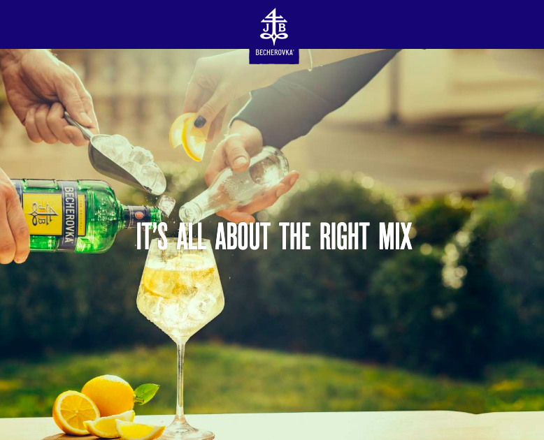 Becherovka - It's all about the right mix